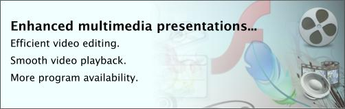 Enhanced multimedia presentations